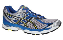 Asics Men's Gel Cumulus 14 platinum/black/neon yellow